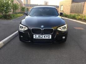 2012 BMW 1 SERIES 1.6 AUTO M SPORT TURBO,5 DR,4 MONTHS MOT, £9,950