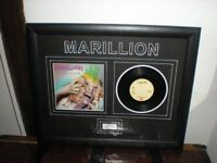 Marillion Framed Black Rain Limited Edition Photographic Artwork ( He Knows You Know)