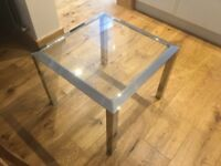 Chrome coffee tables