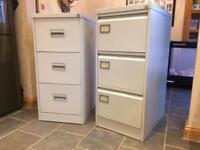 2 X 3 Drawer Metal Filing Cabinets