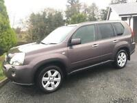 NISSAN X-TRAIL DCI AVENTURA 2008 ***ONLY 95000 MILES*** FULL SERVICE HISTORY*** REVERSING CAM***
