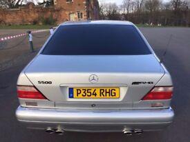 STUNNING W140 Mercedes S500 LWB 150K FSH 19' ALLOYS. MAGNIFICENT