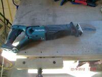 Makita reciprocating saw