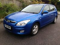 Hyundai i30 Comfort, 5 doors, excellent condition, 10 months MOT, economical car, lots of extras