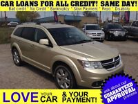 2011 Dodge Journey RT * 4X4 * 5PASS * LEATHER