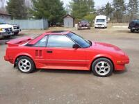 1986 Toyota MR2 supercharged intercooled Coupe