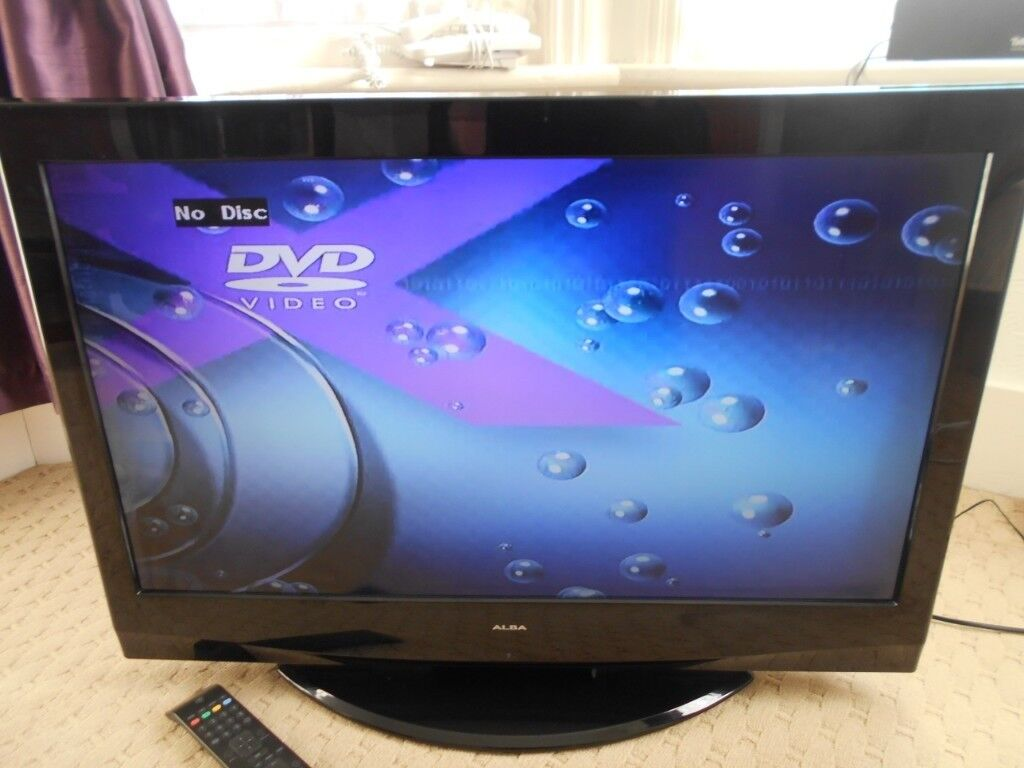 Alba 32 With Built In Dvd Player Spares Or Repairs Perfect