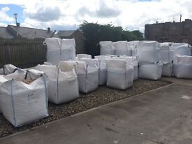 Bulk bags sand gravel type 1 del to your door same day handi bags also available also bags cement