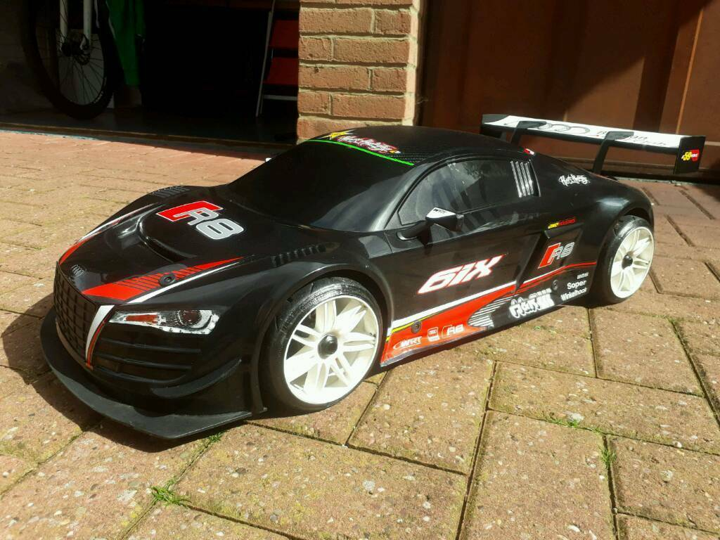 rc car losi audi r8 1 6th lms gt 3 brushless in milton. Black Bedroom Furniture Sets. Home Design Ideas