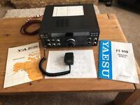 Yaesu FT-990 HF Radio in mint condition boxed with all accessories and manual