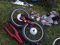Honda Cub Various Parts