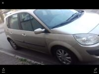 57 plate Renault scenic