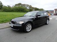 BMW 116 ES 2.0 ltre Diesel,2011/61,3 door,Sapphire black/rhino grey interior