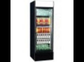 Glass door display fridge