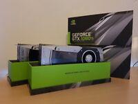 2x NVIDIA GTX 1080Ti graphics card