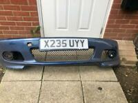 BMW e46 m sport facelift front bumper for sale  Ipswich, Suffolk