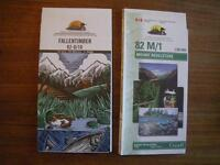 Cdn Topo Series maps, 1:50,000, (most are new)