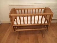 Mothercare cot/cradle - RRP £129