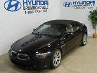 2005 BMW 645Ci CABRIOLET + LOOK INCROYABLE + 325 HP + WOW!!
