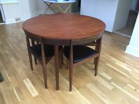 Frem Rojle table and chairs