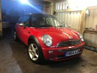 MINI Hatch 1.6 Cooper 3dr, 2004 (54 reg), Hatchback, 106,204 miles, Manual Petrol, MOT 30/10/2018,