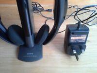 SONY - WIRELESS MDR-IF210 Headphones