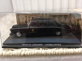 1:43 Daimler Limousine - JAMES BOND COLLECTION - Casino Royale - FABBRI