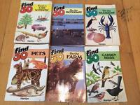 Retro find 50 books