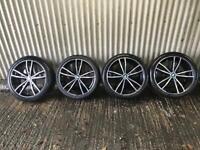 "Genuine 19"" BMW 3 Series M Sport Plus Staggered Alloy Wheels 791 M - 5x112 - 316, 318, 320 G20 G21"