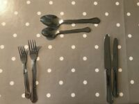 Collectible Silver Cutlery Set