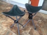 Eurohike compact tripod camping stools