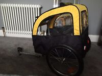 Brand new dog bike trailer for sale