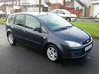 2006 06 FORD FOCUS C MAX ZETEC 2.0 PETROL VERY NICE CAR WITH TOW BAR DRIVES VERY WELL VERY CHEAP