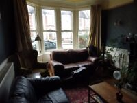 Double room is lovely quiet Victorian house, off Albany Rd. Bills included.