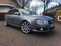 AUDI A4 2.0 TDI S-LINE ESTATE 2005 2 OWNERS FROM NEW FULL SERVICE HISTORY