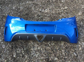 Vauxhall Corsa D VXR 2007 Arden Blue Rear Bumper & Diffuser Excellent Condition
