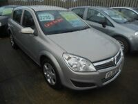 vauxhall astra 1.3 cdti club 5dr 2008 model,fsh from new 11 stamps,1 owner from new,mot,82,000 miles