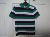 Ralph Lauren Polo Boys T Shirt - Size 8 yrs (S) - Immaculate
