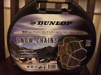 Snow chains. Dunlop. 12 mm. 60 group.