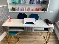 Nail bar to rent