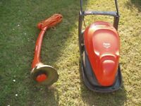 Flymo easi glide and flymo contour strimmer