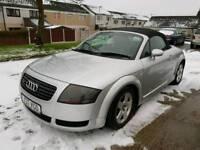 Audi tt 1.8 turbo 180 bhp convertible 4x4