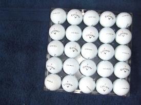 25 callaway is / ix golf balls