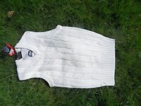 child cricket sleeveless pullover age 13
