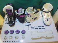 "Razors SL ""Jenna Downing"", rollerblades/rollerskates/agrressive skates complete"