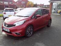 NISSAN NOTE 1.2 DIG-S TEKNA STYLE 5dr 98 BHP (red) 2014