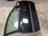 Ford Focus door ( fits 3 door focus ) complete - panther black