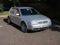 EXCELLENT EXAMPLE!! 2003 VOLKSWAGEN GOLF 1.9 TDI PD GT 5dr,TIMING BELT CHANGED,1 YEAR MOT,WARRANTY