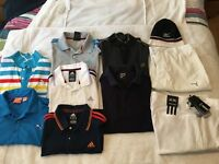 GOLF CLOTHES in excellent condition.