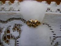 COSTUME GOLD KNOT RING SIZE 5 - 5.5  **ORILLIA**